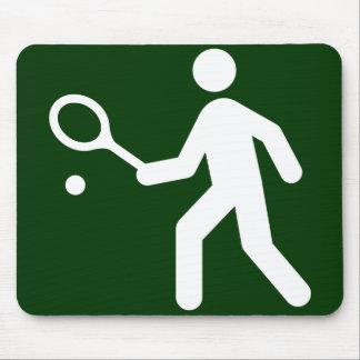 Tennis Symbol Mousepad