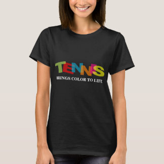 Tennis t-shirt for women with cute quote