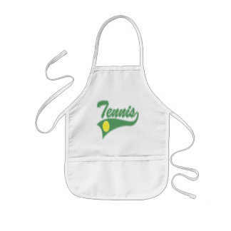 Tennis T Shirts and Gifts Kids' Apron