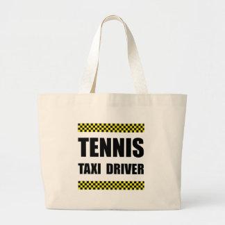 Tennis Taxi Driver Large Tote Bag