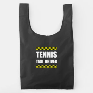 Tennis Taxi Driver Reusable Bag