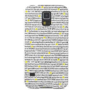 Tennis Terms Samsung Phone Case Galaxy S5 Case