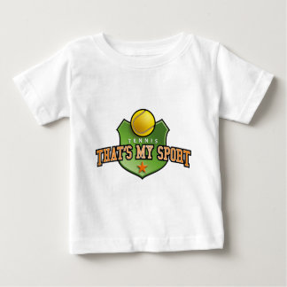tennis - that's my sport baby T-Shirt