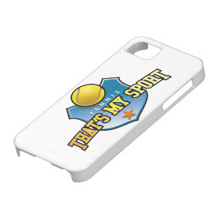 tennis - that's my sport iPhone 5 covers