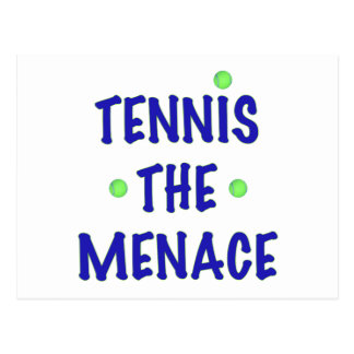Tennis the Menace Postcard