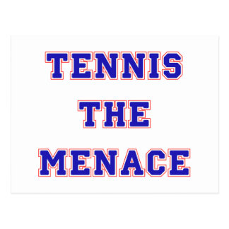 Tennis the Menace Team Postcard