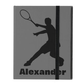Tennis theme iPad 2 3 4 case | Personalized name iPad Cases