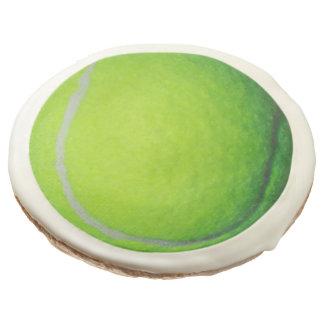 Tennis Theme Party Fun Sugar Cookie