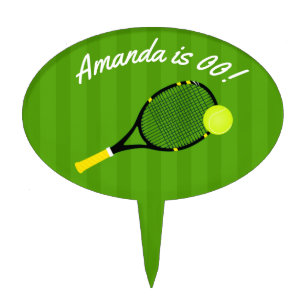 Tennis Cake Toppers Zazzle