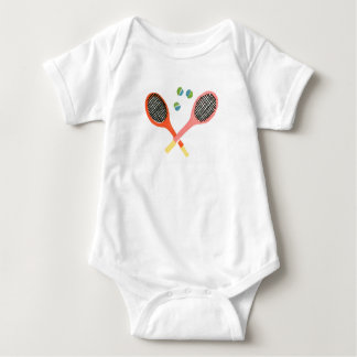 tennis time baby t-shirt