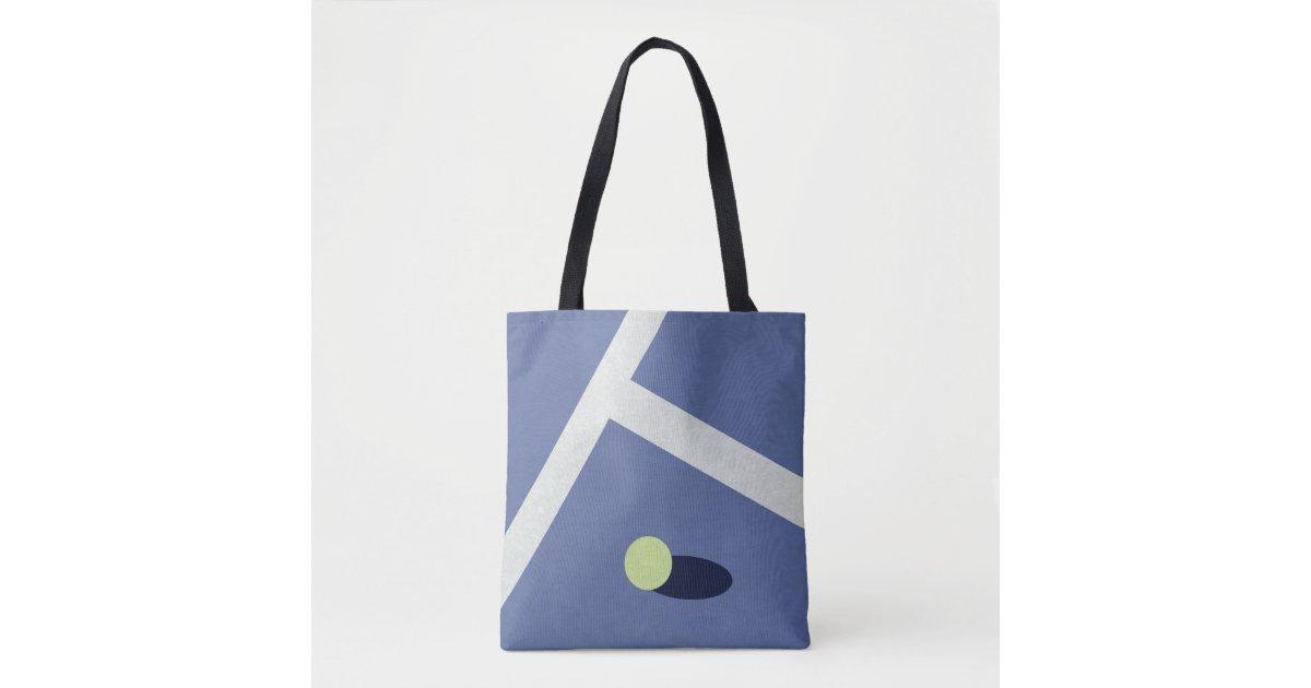 Tennis Tote Bag Zazzle