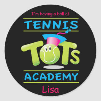 Tennis Tots Academy_I'm having a ball Stickers