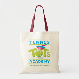 Tennis Tots Academy_Kids have a ball learning Canvas Bag