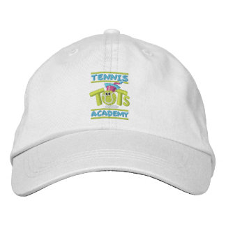 Tennis Tots Academy stacked logo Embroidered Baseball Hat