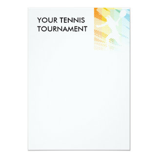 TENNIS TOURNAMENT INVITATIONS