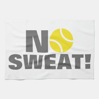 Tennis towel   No sweat!