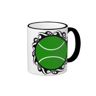 tennis. tribal. mugs
