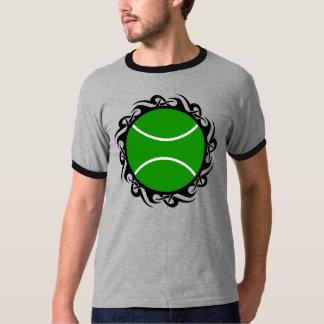 tennis. tribal. t-shirt