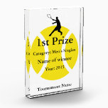 """Tennis trophy award 