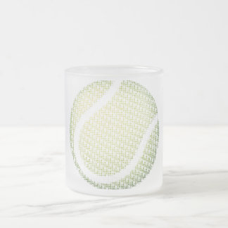 Tennis Type Text Ball Mug