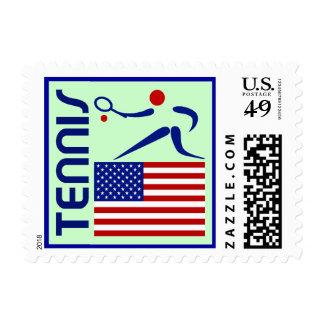 Tennis, United States Postage
