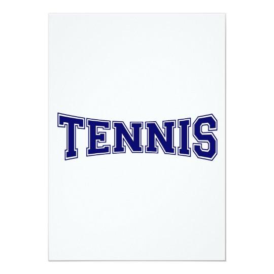 Tennis University Style Card