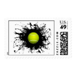 Tennis Urban Style Postage Stamps