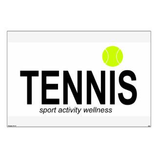 Tennis Wall Sticker