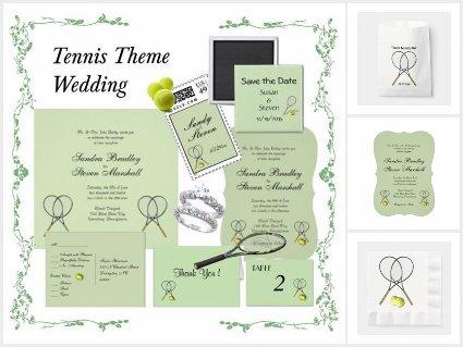Tennis Wedding