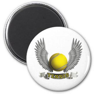 Tennis wings B Magnet