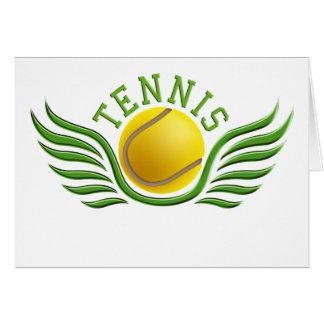 tennis wings card