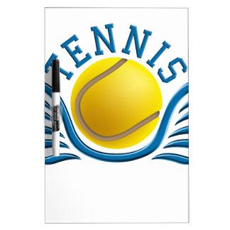 tennis wings dry erase board