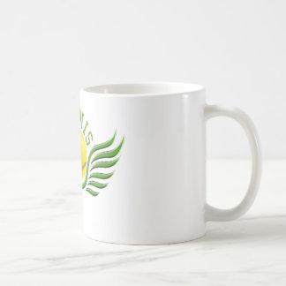 tennis wings classic white coffee mug