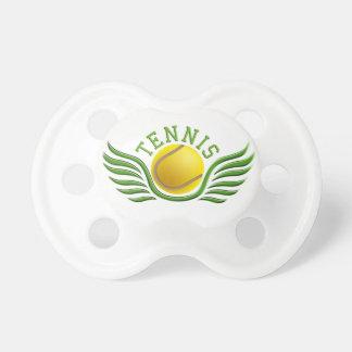 tennis wings pacifier