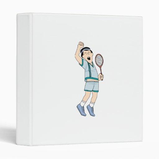 Tennis Winner 3 Ring Binders