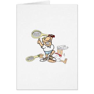 Tennis Winner Greeting Card