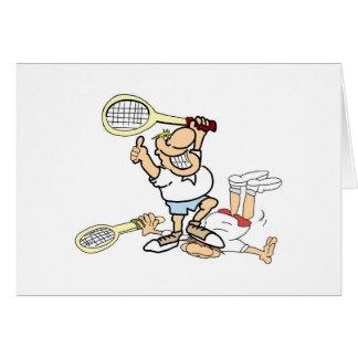 Tennis Winner Card