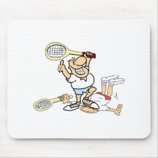 Tennis Winner Mouse Pad