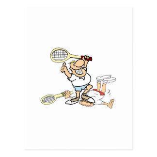 Tennis Winner Postcard