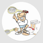 Tennis Winner Stickers