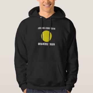 Tennis Winners Train Hooded Pullover