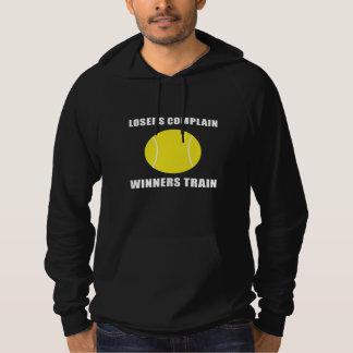 Tennis Winners Train Hoodie