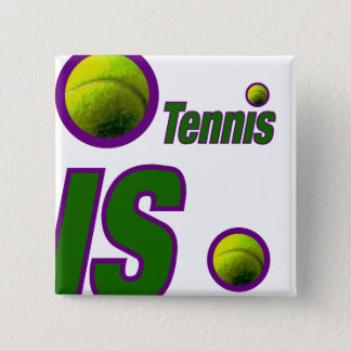 Tennis with Ball Button
