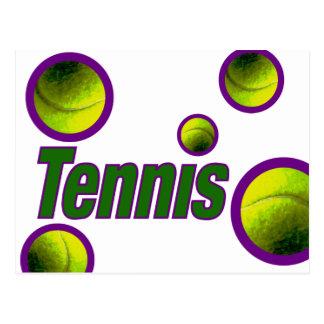 Tennis with Ball Postcard