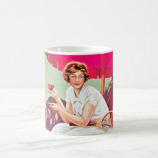 Tennis Woman from Phoscao Ad Coffee Mug