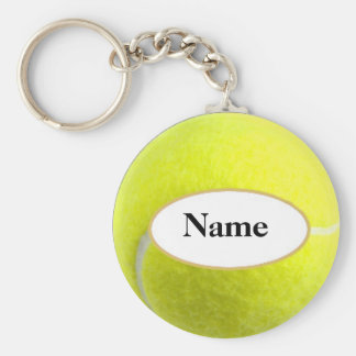 tennisball with your nasty on it keychain