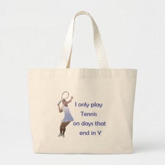 TennisChick Days Large Tote Bag