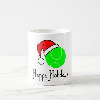TennisChick Happy Holidays Coffee Mug