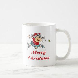 TennisChick Mrs. Claus Coffee Mug