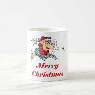 TennisChick Mrs. Claus 11 Oz Magic Heat Color-Changing Coffee Mug